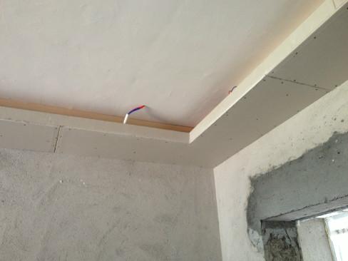 木板吊顶施工步骤图